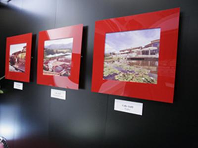 Design of exhibition areas